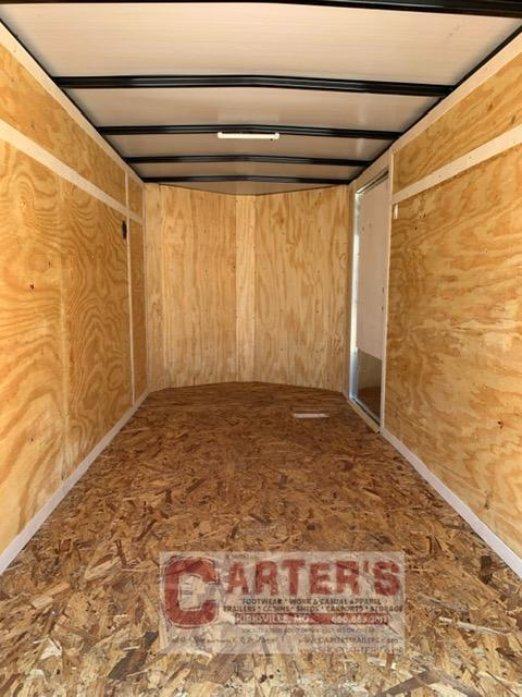 2021 Doolittle Trailer Mfg 5 x 10 Enclosed Cargo Trailer REAR RAMP DOOR