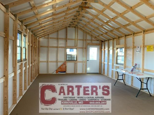 15 X 44 CARTER CABIN BY MIDWEST STORAGE BARNS
