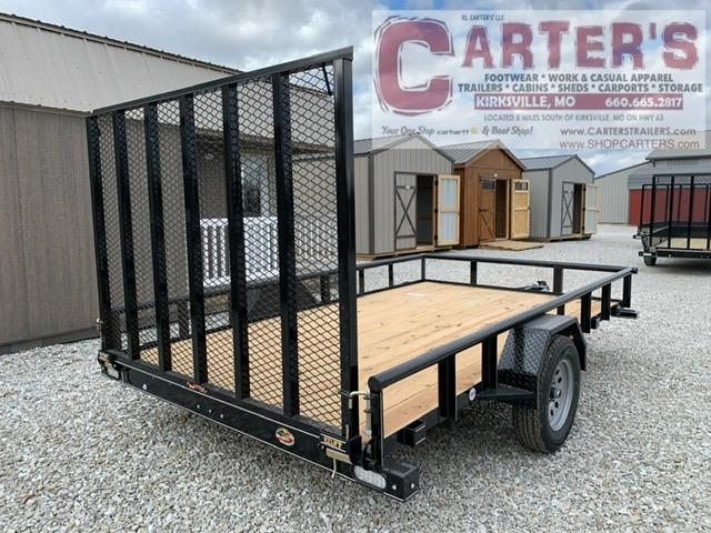2021 DOOLITTLE 84 X 12 PIPE RAIL S/A UTILITY TRAILER