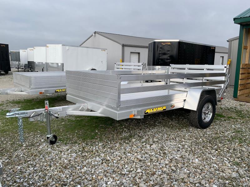 2021 Aluma 6810H Utility Trailer + BIFOLD TAILGATE
