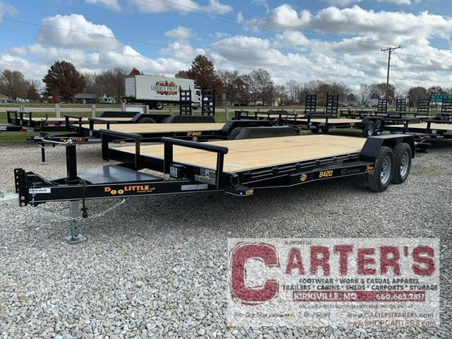 "2021 Doolittle Trailer Mfg 84"" x 18"" + 2' Dove XTREME Equipment Trailer 7000 GVWR"