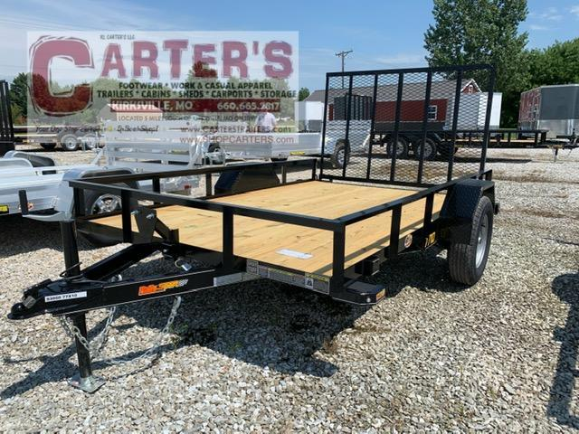 "2021 Doolittle 77"" X 10' RALLY SPORT Utility Trailer + Spare Mount"
