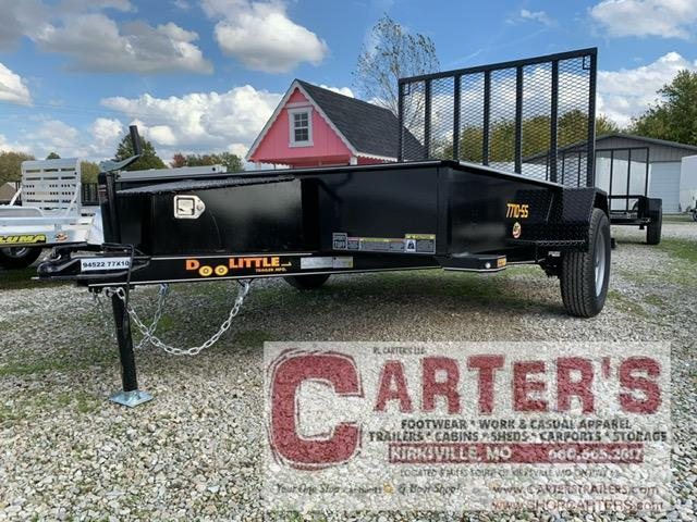 2021 Doolittle Trailer Mfg 77 x 10 SS SERIES Utility Trailer
