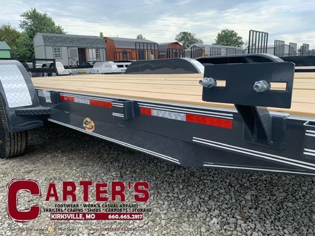 2021 Heartland 82 X 18 + 2' DOVE Equipment Trailer 7K GVWR