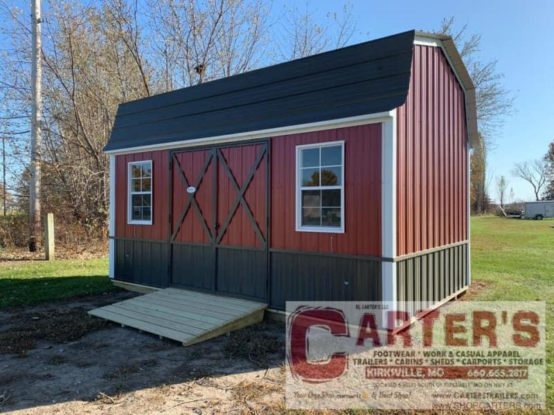 10' X 16' SIDE ENTRY HI-BARN BY MIDWEST STORAGE BARNS