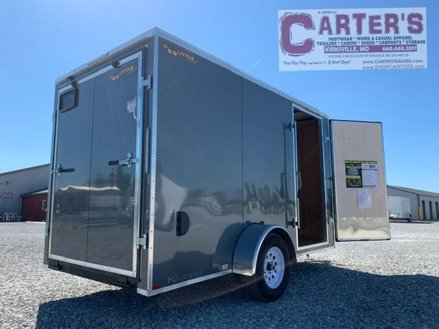 2021 Doolittle Trailer Mfg 6'X12' Enclosed Cargo Trailer REAR RAMP DOOR