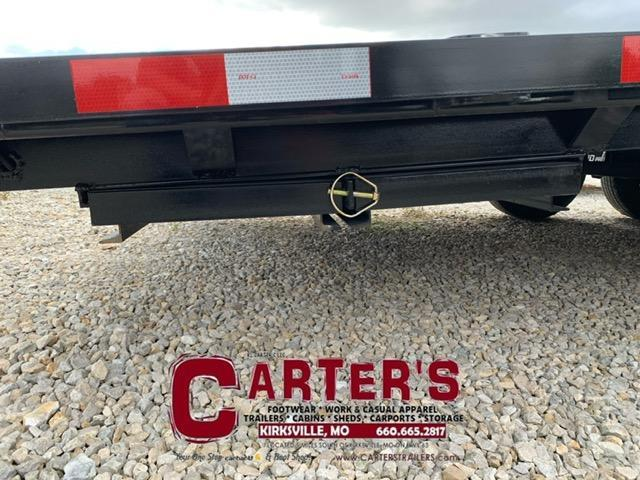 2022 HP Trailers 102 X 18 + 4 DOVE 10K GVWR Equipment Trailer