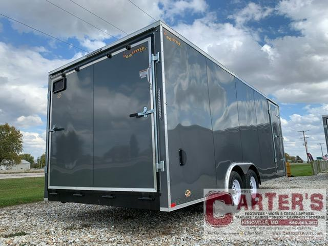 2021 Doolittle Trailer Mfg 8.5 X 20 Enclosed Cargo Trailer 7000 GVWR