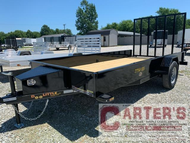 "2021 Doolittle 77"" x 14' SS SERIES Utility Trailer + Spare Mount"