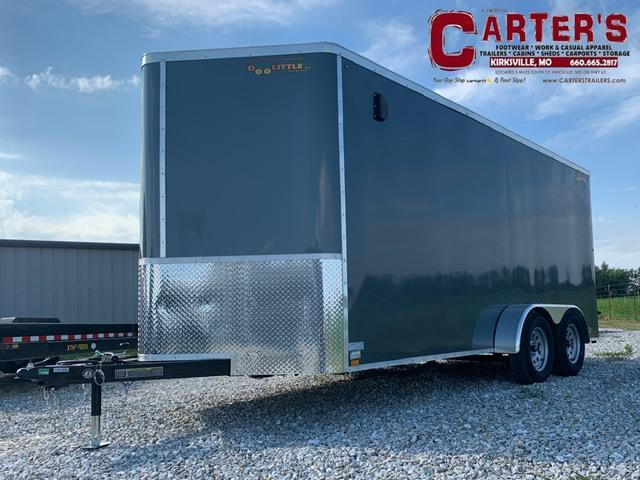 2022 Doolittle Trailer Mfg 7 x 16 Enclosed Cargo Trailer REAR RAMP DOOR