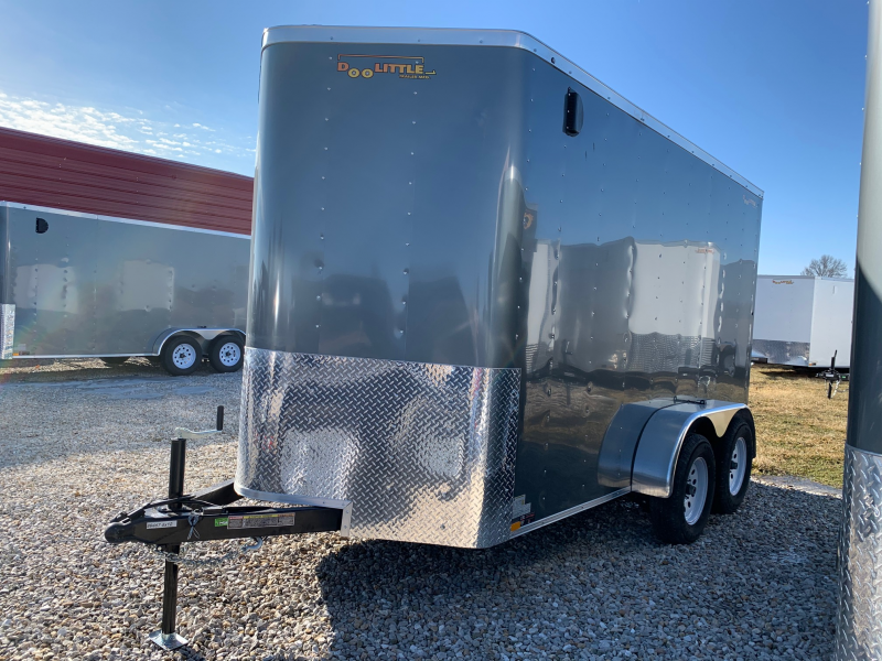 2020 Doolittle Trailer Mfg 6 X 12 CARGO Enclosed Cargo Trailer REAR RAMP DOOR