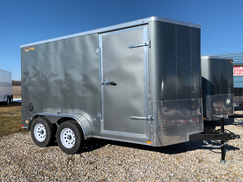 2020 Doolittle Trailer Mfg 6 X 12 CARGO Enclosed Cargo Trailer REAR RAMP DOOR