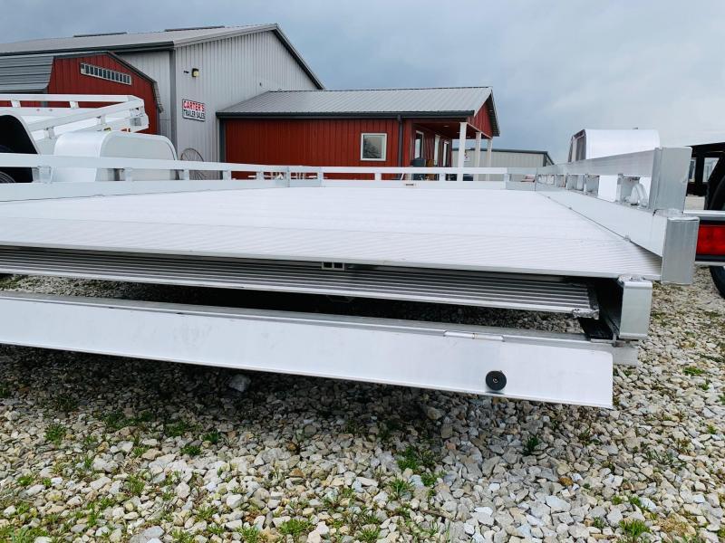 2021 Aluma 7712HSLR EXECUTIVE SERIES Utility Trailer