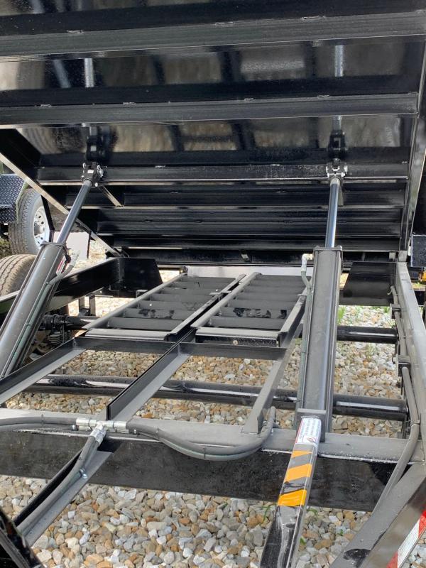 2020 Doolittle 72 X 12 MASTER DUMP TRAILER DUAL CYLINDER LIFT 10000 GVWR