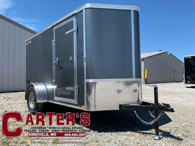 2021 Doolittle Trailer Mfg 5 X 10 Enclosed Cargo Trailer w/ REAR RAMP DOOR