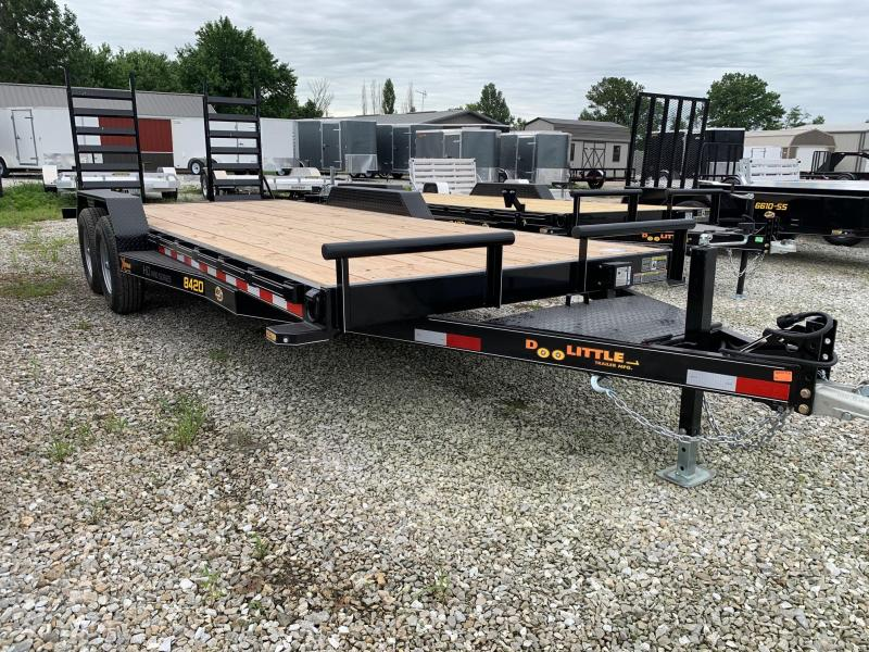 "2021 Doolittle 84 x 18"" + 2' DOVE XTREME EQUIPMENT TRAILER 10000 GVWR"