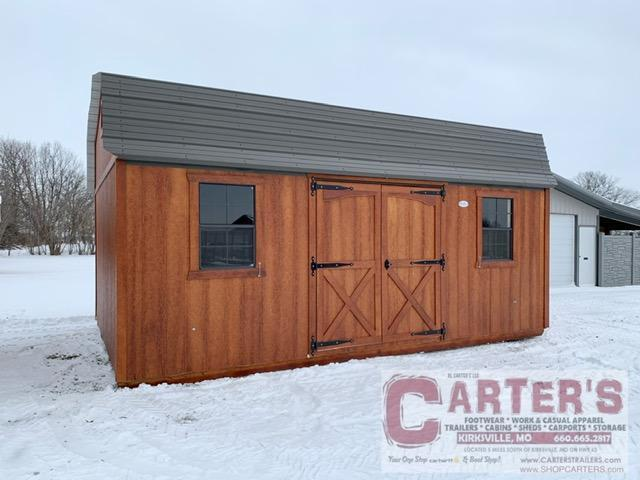 14' X 20' SIDE ENTRY HI-BARN BY MIDWEST STORAGE BARNS