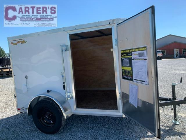 2021 Doolittle 5 x 8 Rear DOUBLE DOORS Enclosed Cargo Trailer