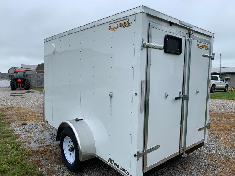 2020 Doolittle Trailer Mfg 6 x 12 Enclosed Cargo Trailer REAR DOUBLE DOORS