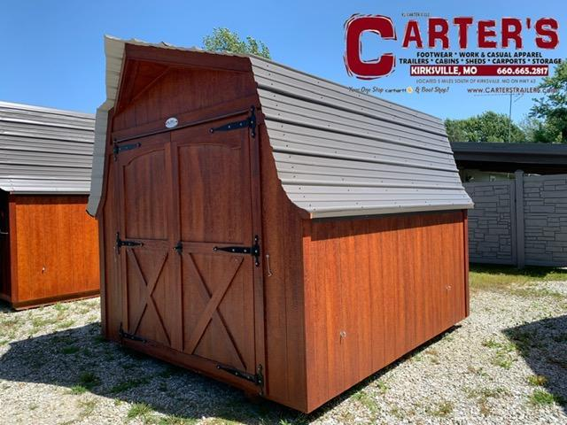 9' X 10' MINI BARN Utility Shed BY MIDWEST STORAGE BARNS
