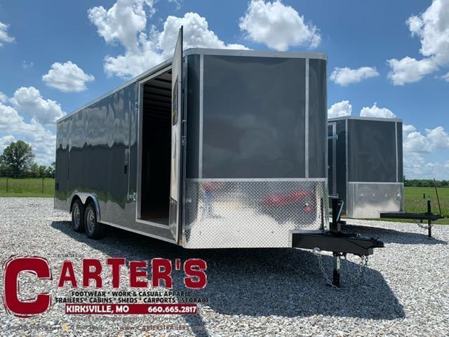 2021 Doolittle Trailer Mfg 8.5 X 20 Enclosed Cargo Trailer 7000 GVWR REAR RAMP DOOR