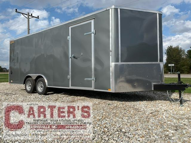 2021 Doolittle Trailer Mfg 8.5 X 20 Enclosed Cargo Trailer 7000 GVWR + AUTO TRANSPORT PACKAGE