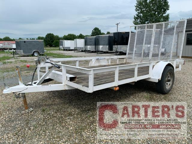 USED 2004 Maxwell 76 x 12 Utility Trailer 5200 LB. Axle