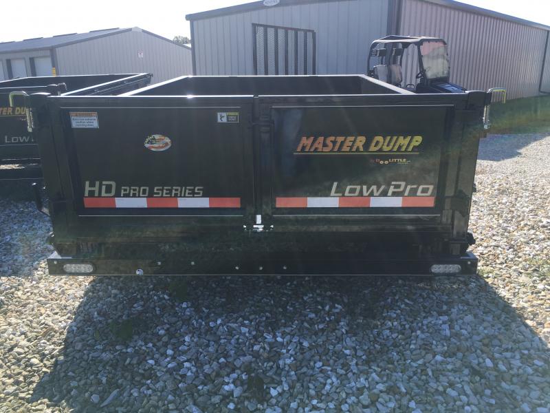 2020 Doolittle Trailer Mfg 72 X 10 MASTER DUMP SINGLE CYLINDER LIFT 10K GVWR
