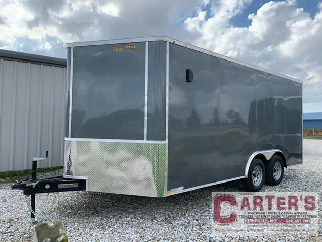 2021 Doolittle Trailer Mfg 8.5 X 16 Enclosed Cargo Trailer 7000 GVWR