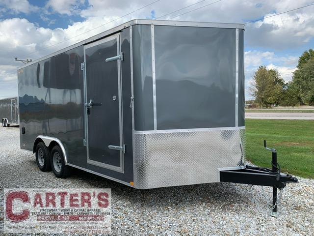 2021 Doolittle Trailer Mfg 8.5 X 16 Enclosed Cargo Trailer 7000 GVWR