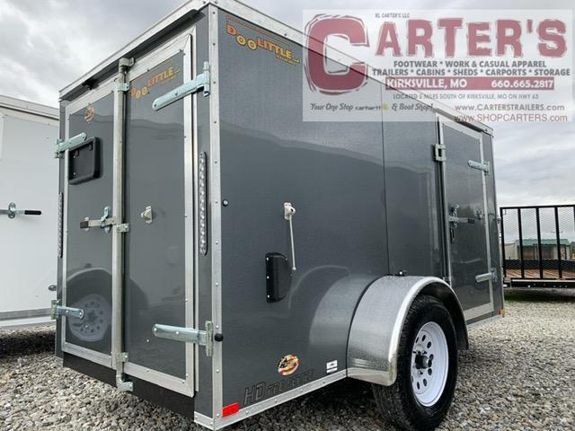 2021 Doolittle Trailer Mfg 5 x 10 Enclosed Cargo Trailer REAR BARN DOORS