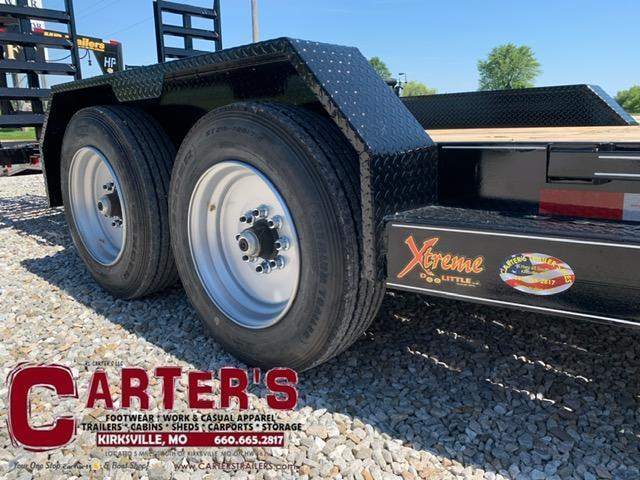 2021 Doolittle Trailer Mfg 82 X 24 GOOSENECK Equipment Trailer