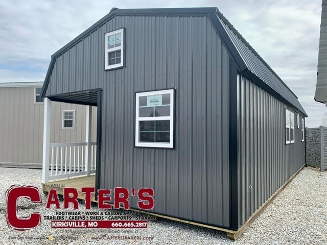 15 X 32 BARN CABIN BY MIDWEST STORAGE BARNS