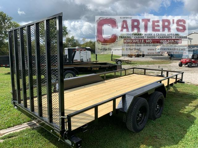 2021 Doolittle Trailer Mfg 77 X 16 RALLY SPORT Utility Trailer