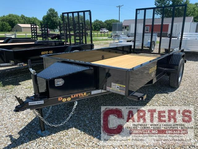 2021 Doolittle Trailer Mfg 66 x 12 SS Utility Trailer