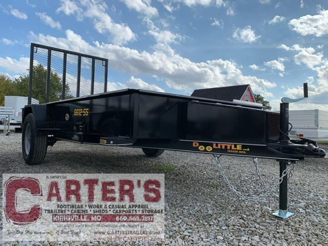 2021 Doolittle Trailer Mfg 66 x 12 SS Utility Trailer