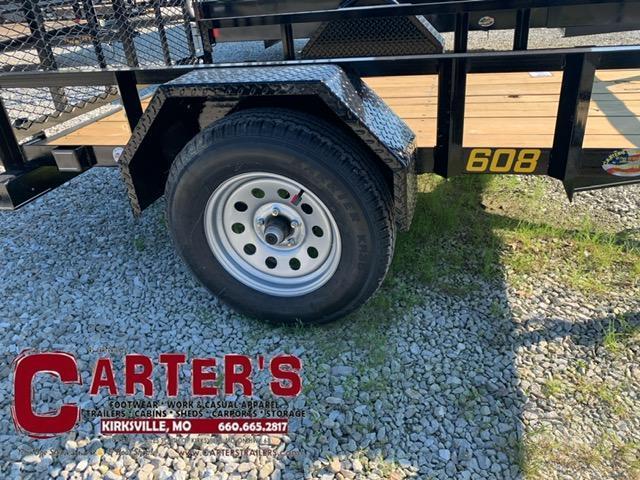 "2021 Doolittle 60"" X 8' RALLY SPORT Utility Trailer"