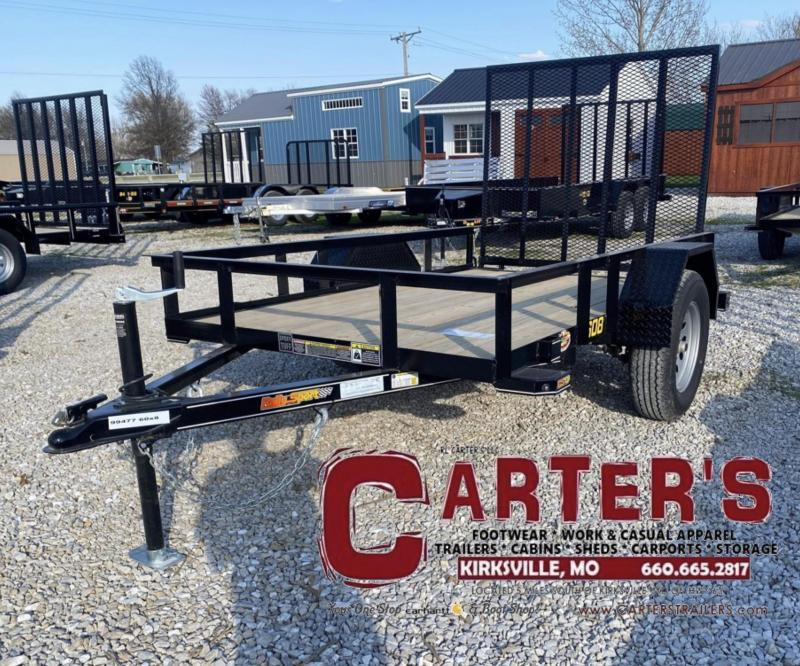 "2021 Doolittle 60"" X 8' RALLY SPORT Utility Trailer"