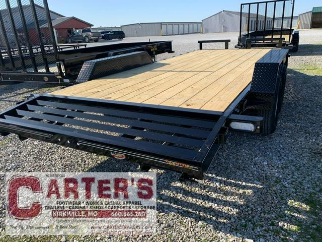 "2021 Doolittle Trailer Mfg 84"" x 16' + 2' Dove XTREME Equipment Trailer 7000 GVWR"