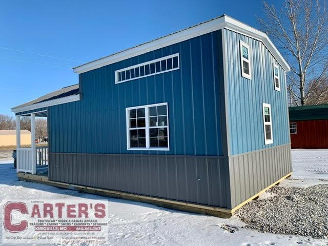 15 X 28 CARTER CABIN BY MIDWEST STORAGE BARNS