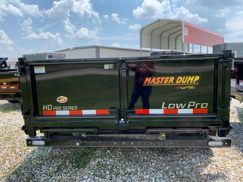2021 Doolittle Trailer Mfg 82 x 12 MASTER Dump Trailer 14000 GVWR SCISSOR LIFT