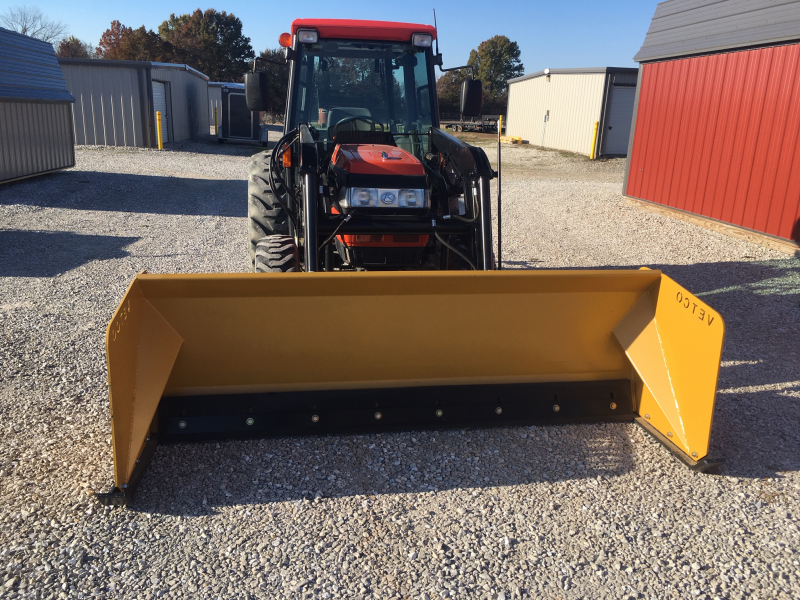 "VETCO 8' WIDE X 30"" TALL HD COMMERCIAL GRADE SNOW PUSHER"