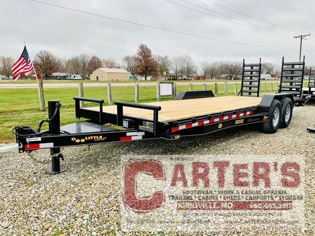 "2021 Doolittle 82"" X 20' + 2' DOVE XTREME EQUIPMENT TRAILER 14K GVWR"