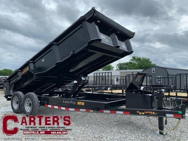 2021 Doolittle 82 x 16 MASTER DUMP TRAILER 14K GVWR SCISSOR LIFT