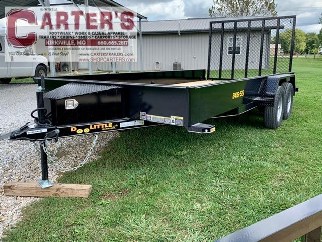 "2021 Doolittle 84"" x 16' Solid Metal Sides T/A Utility Trailer"