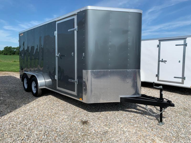 2020 Doolittle Trailer Mfg 7X16 Enclosed Cargo Trailer REAR BARN DOORS