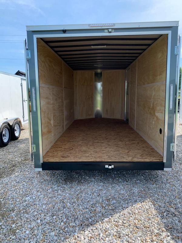 2020 Doolittle Trailer Mfg 7X16 Enclosed Cargo Trailer REAR BARN DOORS