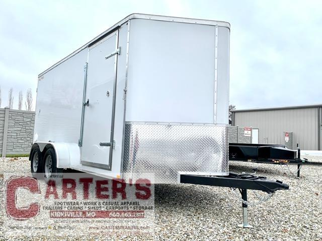 2021 Doolittle Trailer Mfg 7 x 14 Enclosed Cargo Trailer REAR BARN  DOORS