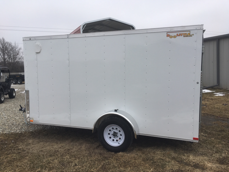 2019 DOOLITTLE 6 x 12 Enclosed Cargo Trailer