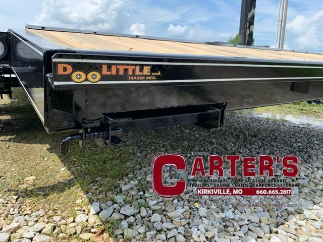 """2021 Doolittle 84"""" X 20' + 2' DOVE CF Equipment Trailer 7000 GVWR"""